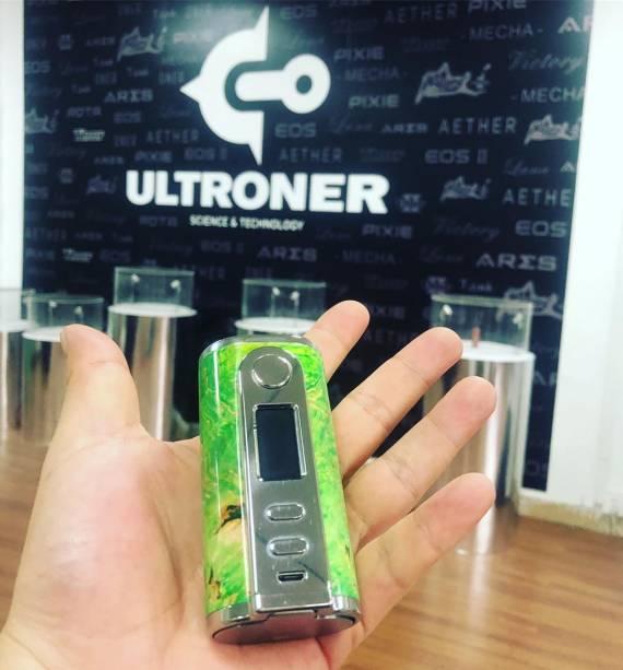 Ultroner GAEA 200W Mod - деревянный арлекин...