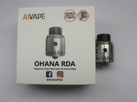 Aivape OHANA RDA - двуспираьная дрипка от новой коллаборации...