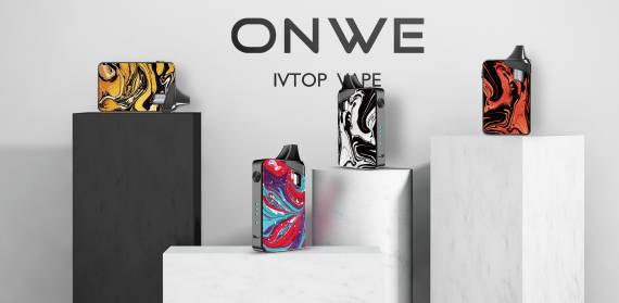 IVTOP Onwe Pod Kit - a bright POD, made according to all the canons ...