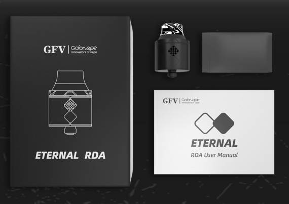 Goforvape Eternal RDA - где-то все это мы уже видели...