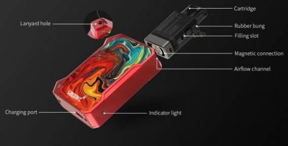 Smoant Battlestar Baby Pod System Kit - a serious competitor to Drag Nano ...