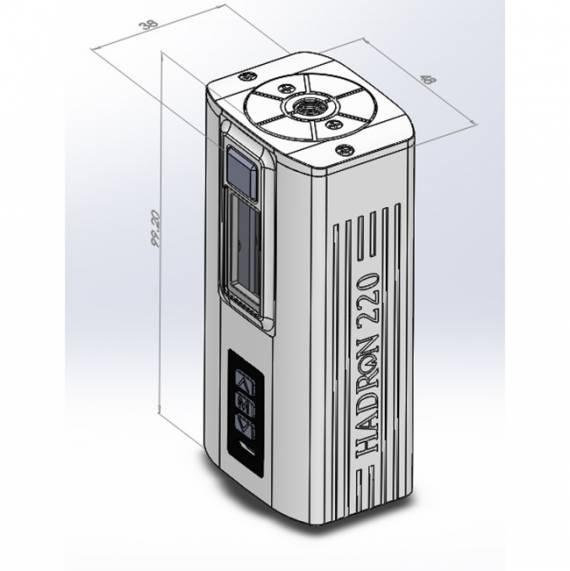 Steam Crave Hadron 220 - две банки 21700, чипсет Yihi и сквонк модуль...