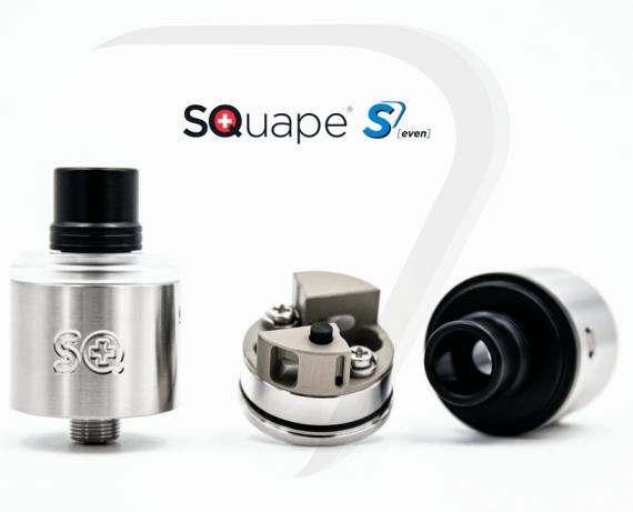 SQuape S[even] BF DL / MTL RDA - универсальный хай-энд из Швейцарии...