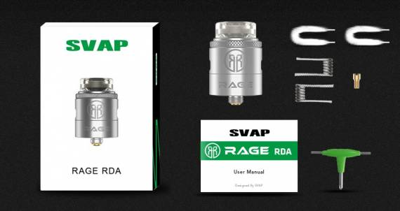 Svap Rage RDA - неврачный старт...