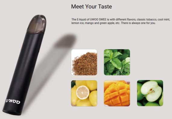 UWOO SWEE POD system - стик со вкусом...