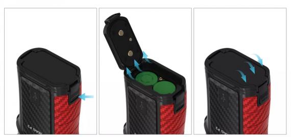 SMOK Mag P3 Kit - прибавить два аккума и будет полкило...