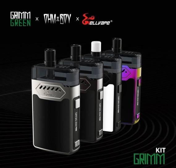 Новые старые предложения - Hellvape Grimm Kit и Wismec PREVA DNA POD...