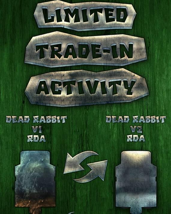 Hellvape Dead Rabbit V2 RDA - мертвый кролик - вторая серия...