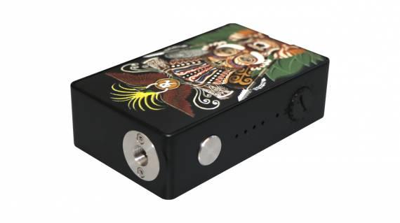 Hippopvape VIVA 245W BOX MOD - разукрашенный варивольт...