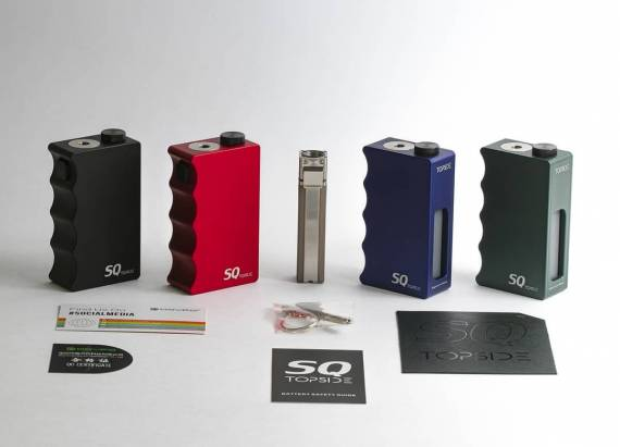 "Signature Tips x Dovpo SQ Topside Mechanical Squonk Mod - Blending the ""Best"" ..."