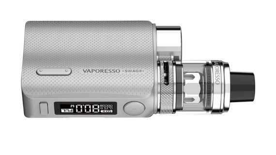 Vaporesso SWAG II Kit - снова шикарное оформление и посадка до25мм...