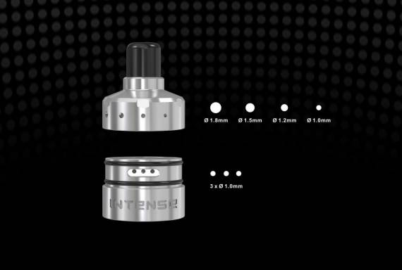 Damnvape INTENSE MTL RDA - do you want a cigarette drip on the grid? ...
