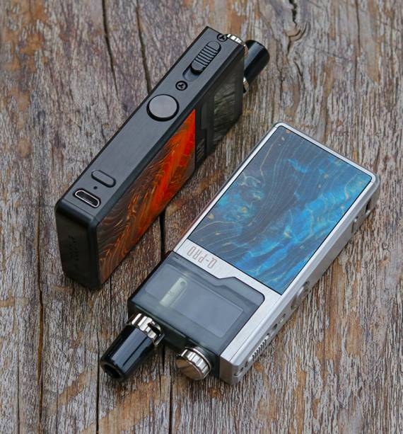 Lost Vape Q-PRO POD KIT - now omnivorous, and even with power adjustment ...