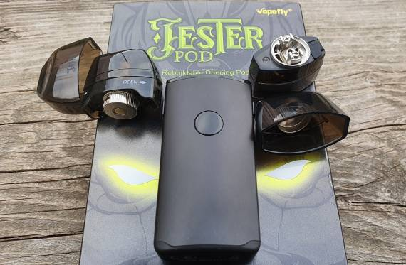 Пощупаем??? - Vapefly Jester Rebuildable POD System...