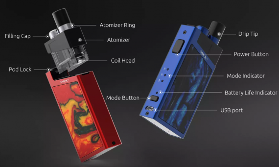 SMOK Trinity Alpha is not new, but deserves attention ...