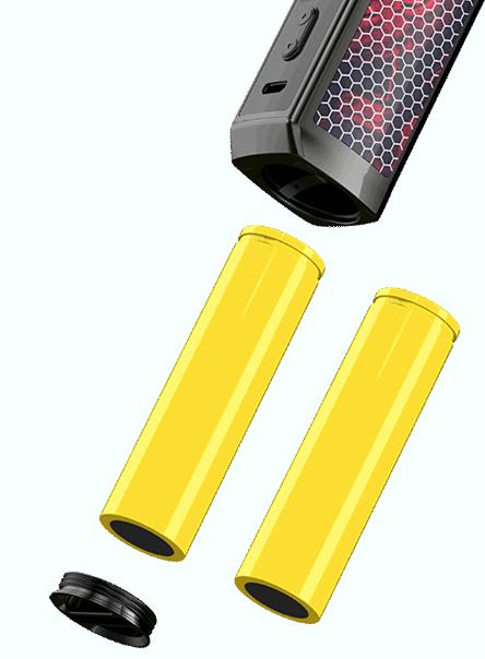 Voopoo VINCI X Mod Pod - вариватт и сменная АКБ в квадратном корпусе...
