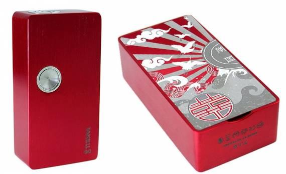 ULTRONER Take It Go 80W Box mod - своеобразное видение регулируемого однобаночника...