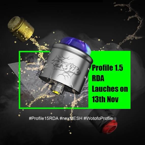 Wotofo Profile1.5 RDA - измененный профиль обдува и система жижеподачи...