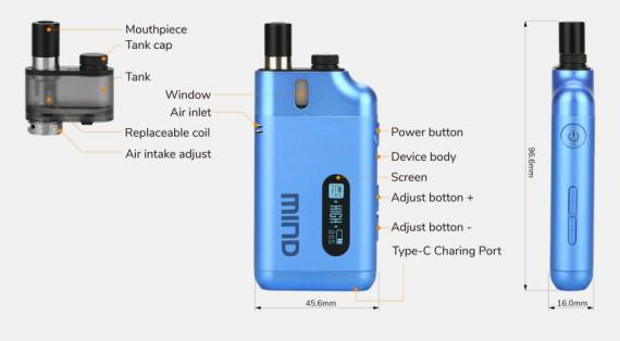 Vapeonly Mind Pod Pro Kit Review