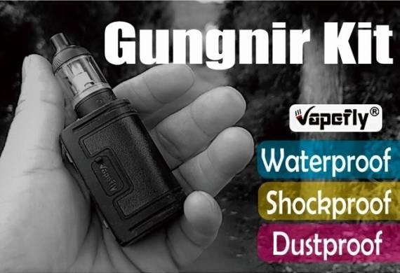 Vapefly Gungnir kit - компактность вкупе с водо/пыле непроницаемостью...