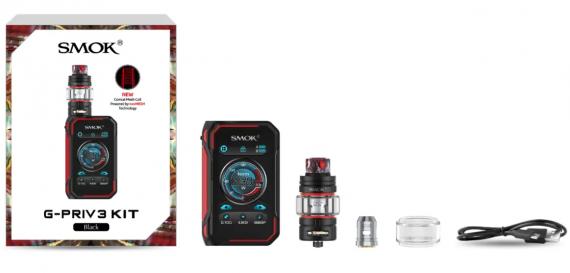 Smok G-PRIV3 kit -  флагман с увеличенным дисплеем и новой необслугой...