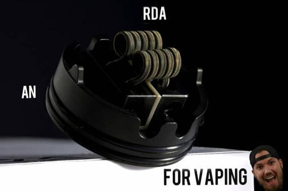 An RDA For Vaping by Coilturd -  занятная дрипка для вейпинга...