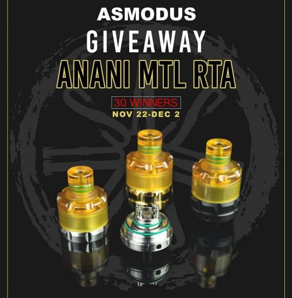 asMODus Anani MTL RTA - сигаретник от асмодусов - уже интересно...
