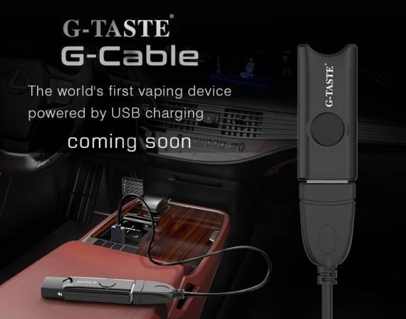 G-Taste G-Cable Vape Device - странно инновационный POD...