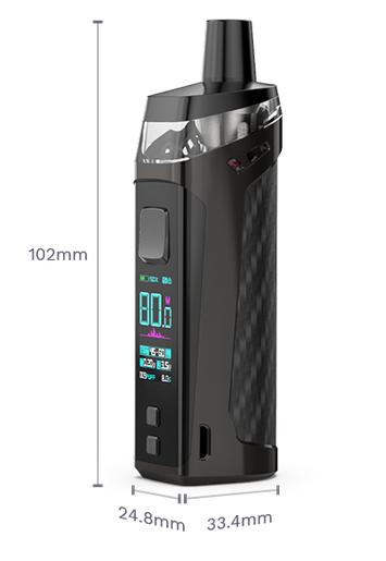 Vaporesso Target PM80 Sub-Ohm POD mod - неплохая заявка на звание лучшего POD-а...