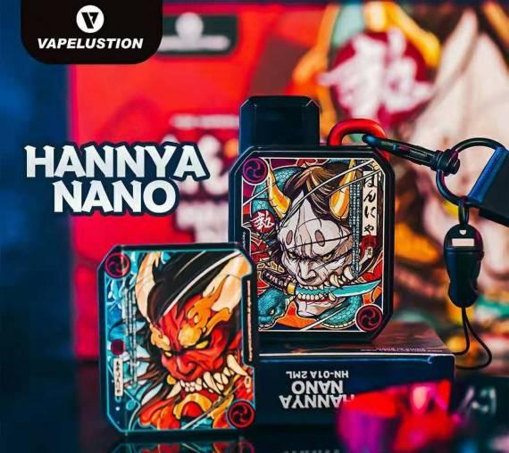 Vapelustion Hannya Nano POD - компактный комикс-под...