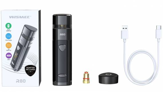 Wismec R80 POD Mod Kit Review