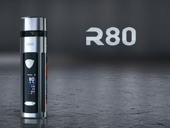 Wismec R80 POD mod - первый серийный под-мод с поддержкой 510-го коннектора...