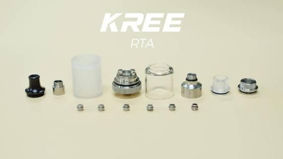 Gas Mods Kree RTA - первый сигаретник в линейке...