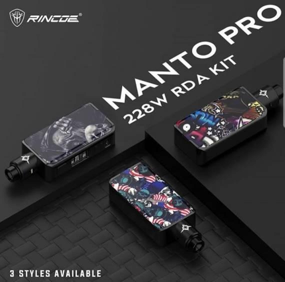 Rincoe Manto Pro 228W RDA Kit - не сердито, зато дешево...