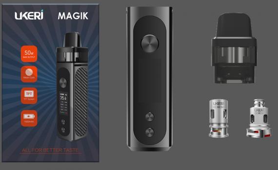 UKERI Magik Pod Kit - подсмотрели идею и стартовали в вейп индустрии...