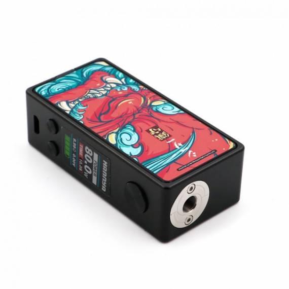 Vapelustion Hannya Mini box mod - и снова бокс с картинками, однако теперь однобаночный...