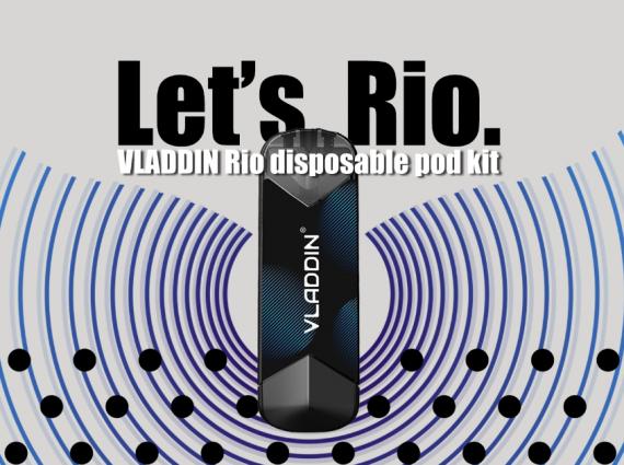 Vladdin Rio Disposable POD kit - одноразовка с выключателем...