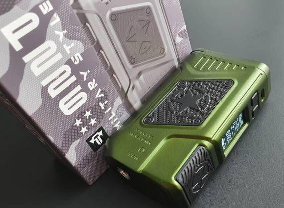 Пощупаем??? - Teslacigs P226 Box mod...