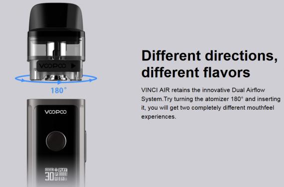 Voopoo Vinci AIR Pod Mod - уменьшенный