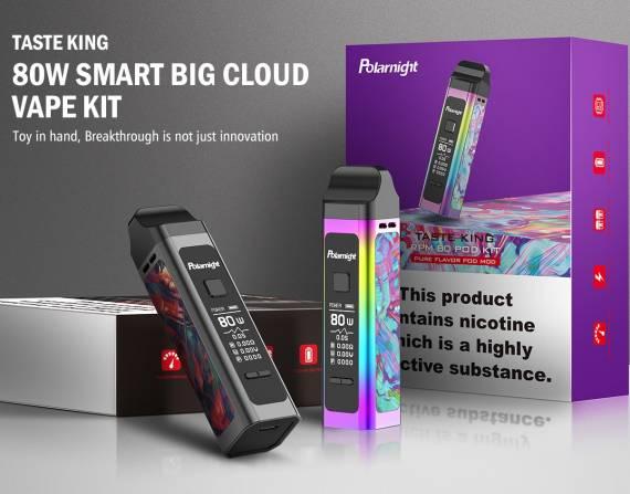 Polarnight Taste King RPM 80 POD mod kit - доработанная версия известного под-мода...