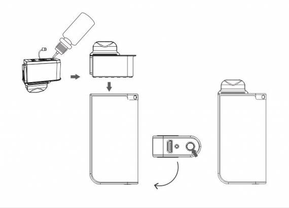 Quizz Tiny X POD Kit - простачок с парочкой фишек...
