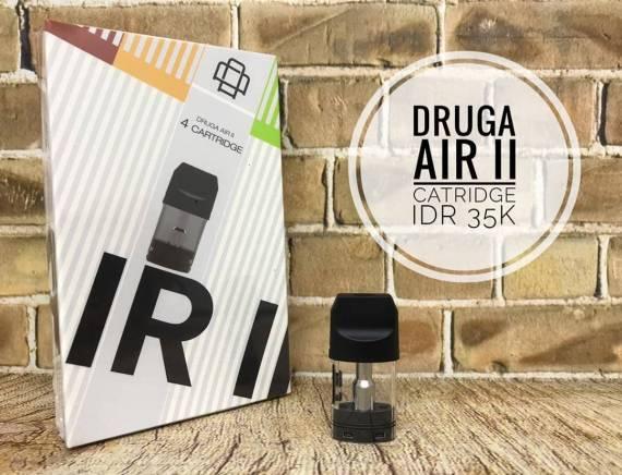 Augvape Druga Air II POD system  - стильный стик с мгновенной зарядкой...
