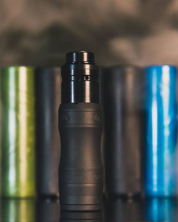 Unicorn Inc. X Arkansas eliquid The Baby Vert mechanical mod - малый рог единорогов...