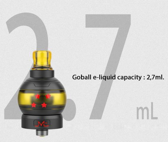 Fumytech & Swoke GOBALL mini MTL tank Collector Pack - коллекционная сигаретная необслуга...