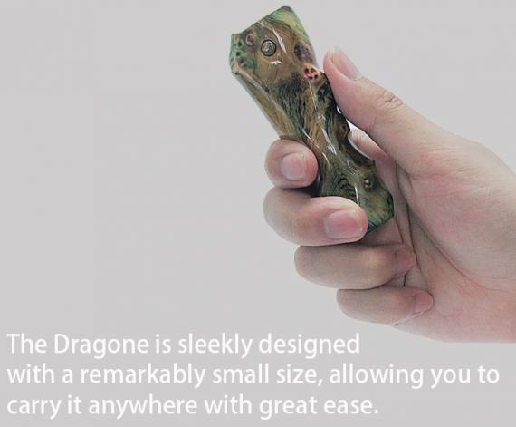BD VAPE Dragone Stabilized Wood mod  - кастомная штучка из материала «staypak»...