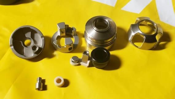 Armor Mods Engine RDA  - односпиралка с оригинальными вставками обдува...