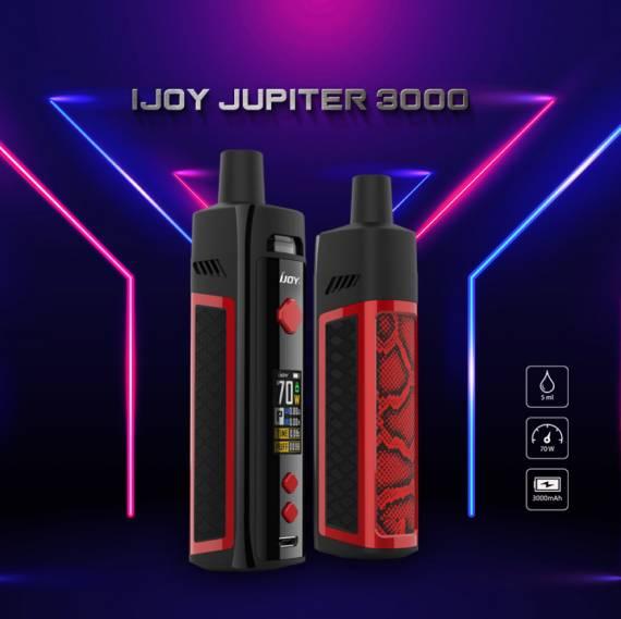 IJOY Jupiter 3000 Kit  - встроенная АКБ и прежний экстерьер...