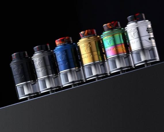 Новые старые предложения - THC TAUREN MAX RDTA и Ambition Mod Easy Side Box Mod...