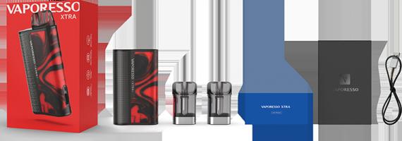 Vaporesso XTRA POD Kit - третья новинка кряду...