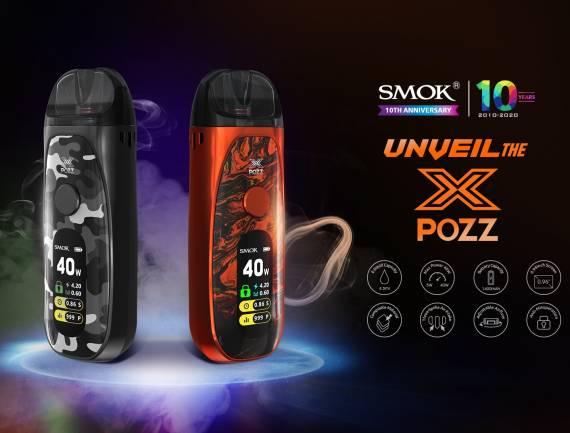 SMOK Pozz X POD - подарок по случаю десятилетнего юбилея...
